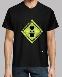 Camiseta hombre: Lo que se cuida crece