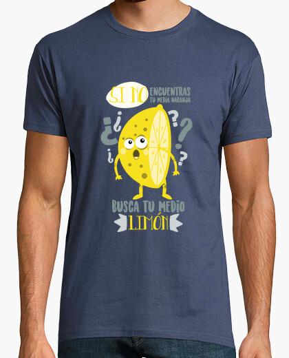 Camiseta Hombre, manga corta, denim, calidad extra