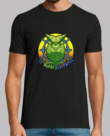 Camiseta Hombre manga corta El Búho De Papel