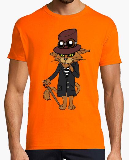 Camiseta Hombre, manga corta, naranja,...