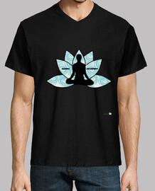 Camiseta hombre: Meditación