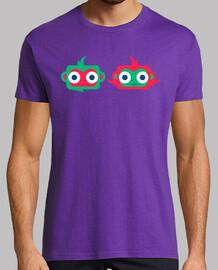 Camiseta hombre Muy monos - varios colores y tallas