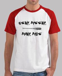 Camiseta Hombre Negan Lucille Eeny, Meeny