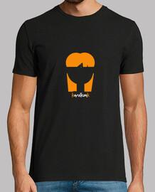 Camiseta Hombre Negra karolkonk