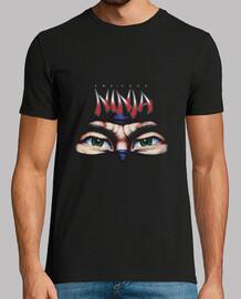 Camiseta Hombre Negra Last Ninja
