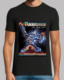 Camiseta Hombre Negra Turrican II