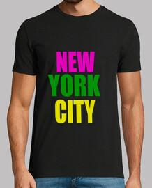Camiseta Hombre New York city Glee