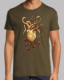Camiseta hombre pulporazon