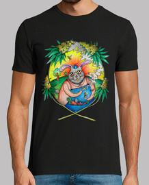 Camiseta Hombre Rabbit