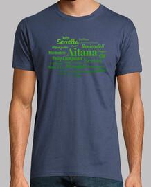 Camiseta hombre 'Sierras de Alicante' #1