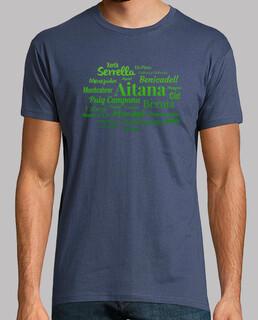 Camiseta hombre Sierras de Alicante N1