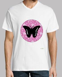 Camiseta hombre: Sin cambios no hay mariposas 2
