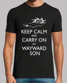 Camiseta Hombre Sobrenatural