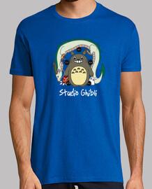 Camiseta hombre Studio Ghibli
