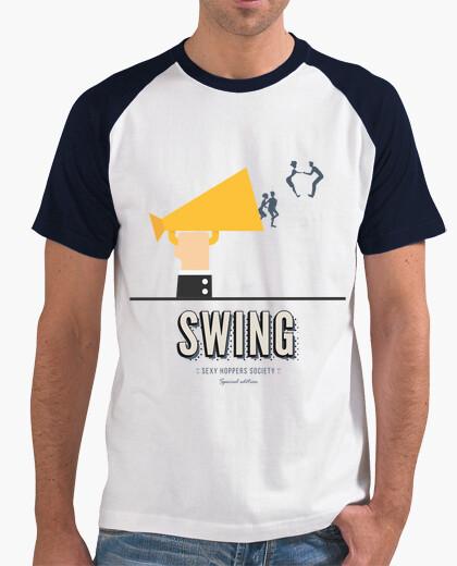 Camiseta hombre swing sexy hoppers