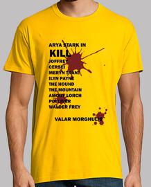 Camiseta Hombre Valar Morghulis