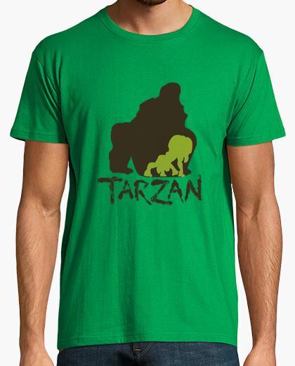 Camiseta Hombre Verde Tarzán