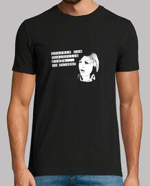 Camiseta homenaje al Pirri - 1 lado - negra