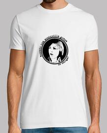 Camiseta homenaje al Pirri - búscate una musiquilla guapa colega - blanca