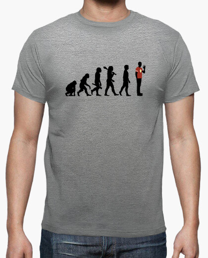 Camiseta Homo novus evolution