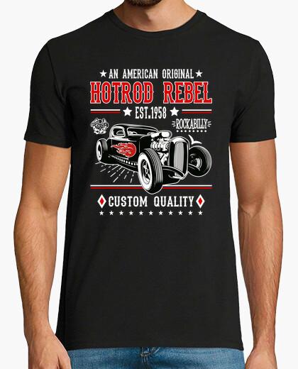 Camiseta Hot Rod Vintage Rockabilly Music Retro 1958 Rock and Roll Rockers