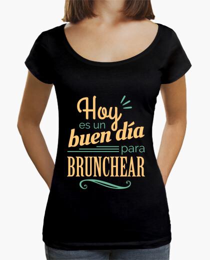 Camiseta Hoy es un buen día para brunchear