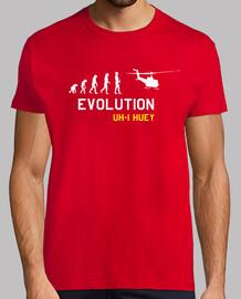 Camiseta Huey Hombre, manga corta, rojo, calidad extra