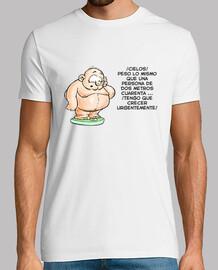 Camiseta Humor peso