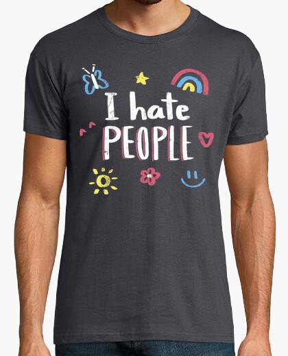 Camiseta I hate people