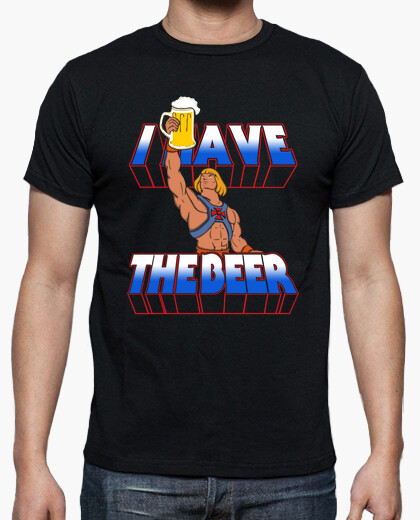Camiseta I have the beer