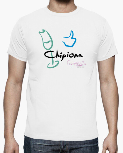 Camiseta I LIKE CHIPIONA by Carajote