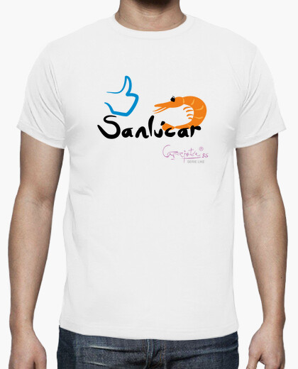 Camiseta I LIKE SANLUCAR by Carajote