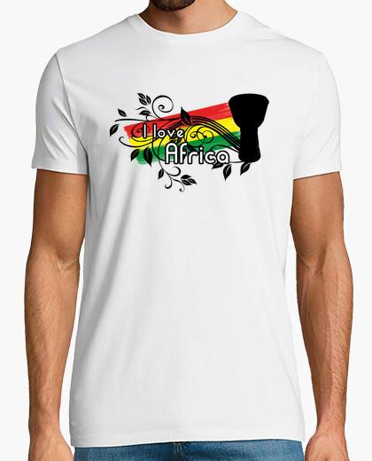 Camiseta I love Africa