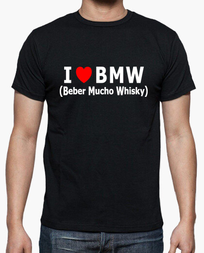 Camiseta I love BMW