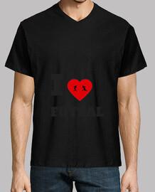 Camiseta I LOVE FUTSAL