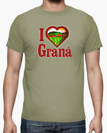 Camiseta I love Graná