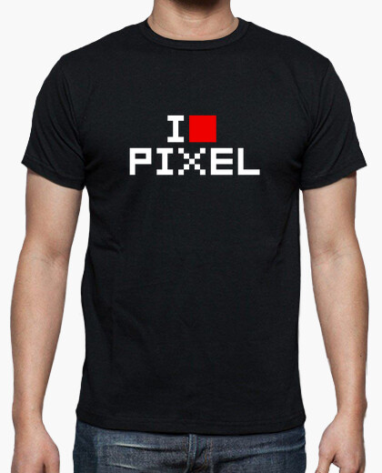 Camiseta I LOVE PIXEL