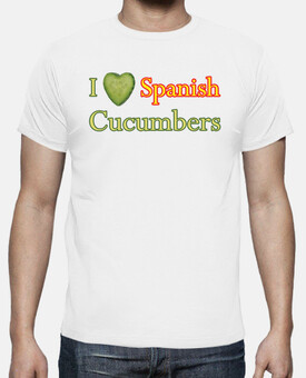 Camiseta I love Spanish Cucumbers