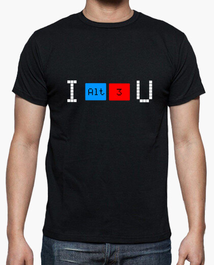 Camiseta I love you 622497