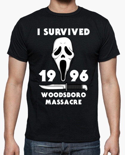Camiseta I survived woodsboro massacre