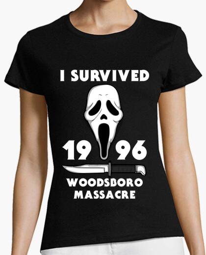 Camiseta I survived woodsboro massacre