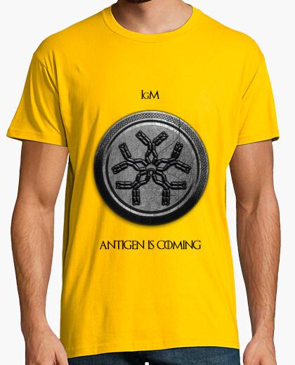 Camiseta IgM Ingles Claro HMC