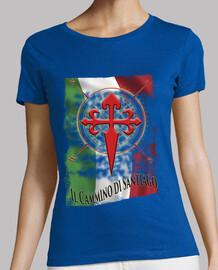 Camiseta Il Cammino di Santiago Italia