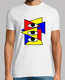 Camiseta Illuminati x3 hombre