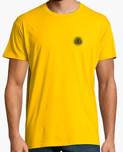 Camiseta Iluminati amarilla