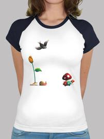 Camiseta ilustración Kawaii