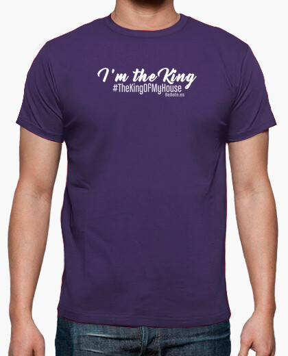 Camiseta I'm the king @shopbebote