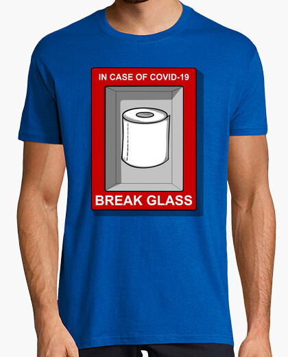 Camiseta IN CASE OF COVID 19