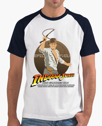 Camiseta Indiana Jones: Epic Fail