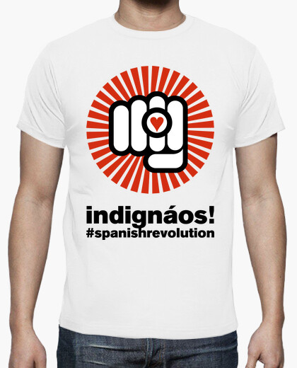 Camiseta Indignados Spanish Revolution